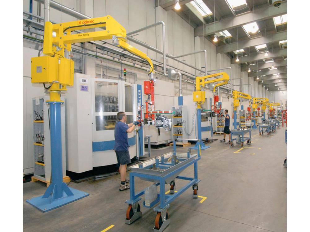 Manipolatori per linee di produzione - settore meccanico