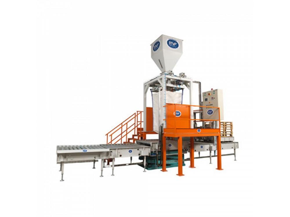 Impianto semiautomatico di dosaggio e riempimento Big Bag