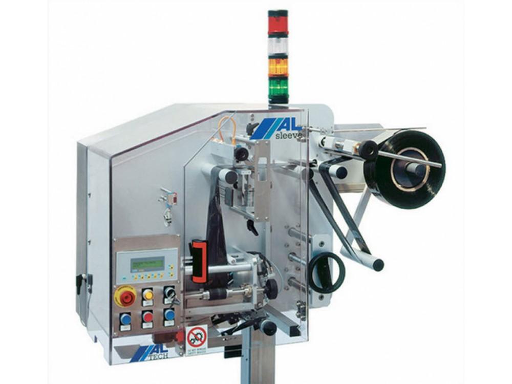 Sistema per applicare manicotti termoretraibili ALsleeve