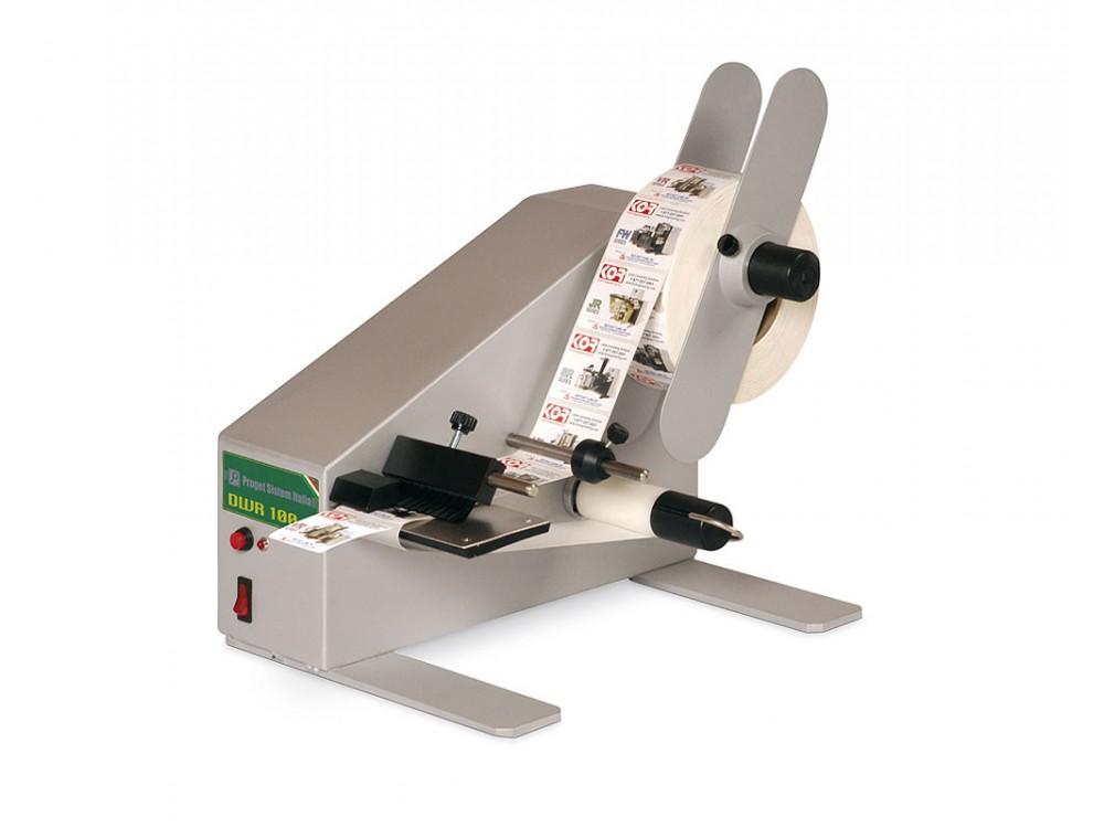 Distributore semiautomatico di etichette  DWR 100 - DWR 200