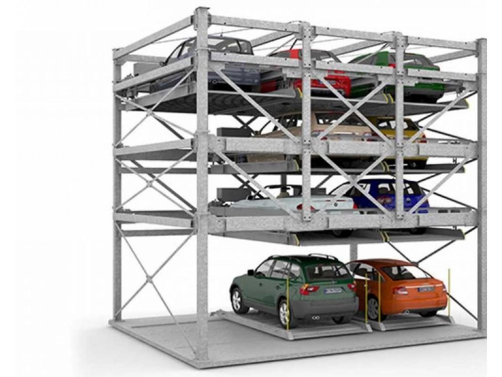 Combiparker 556 sistema di parcheggio per un massimo di 25 vetture