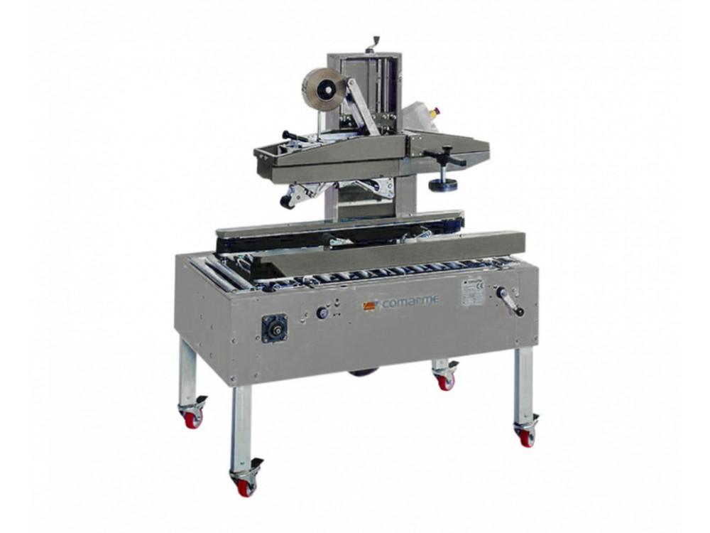 Nastratrice semiautomatica in acciaio inox
