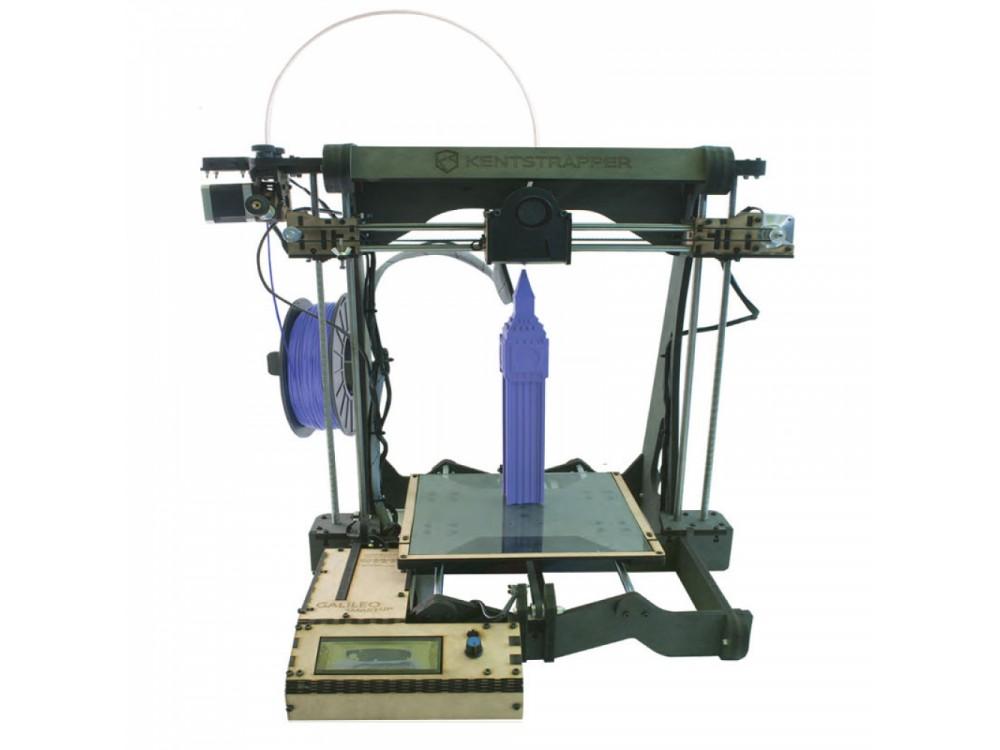 Stampante 3D con area di lavoro maggiorata in altezza