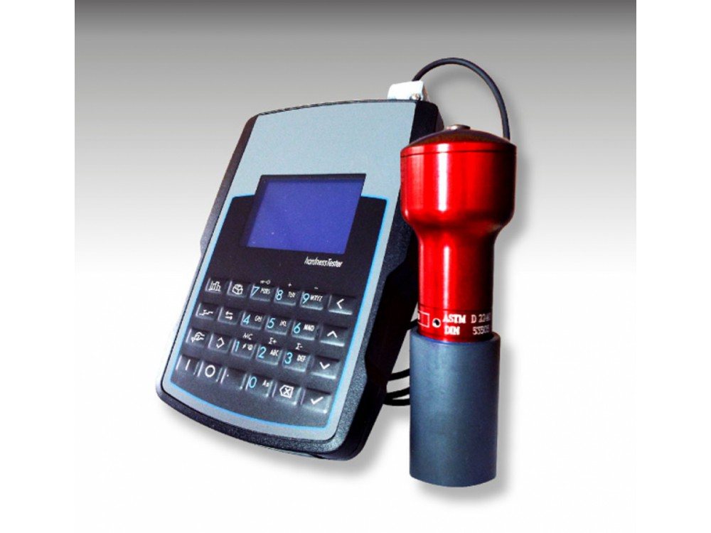Durometro elettronico Shore per gomma e plastica