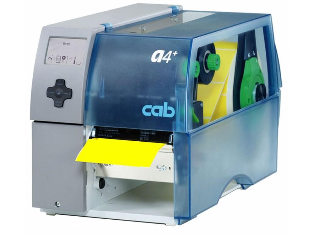 Stampante di etichette a trasferimento termico Cab A4+