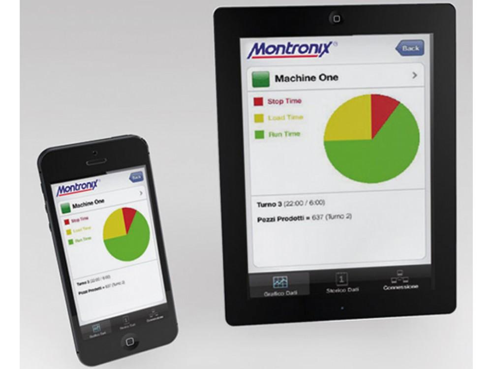 App per monitoraggio collisioni e produzione in tempo reale