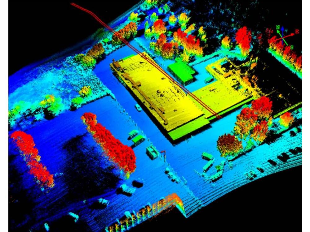Mappatura 3D tramite laser scanner