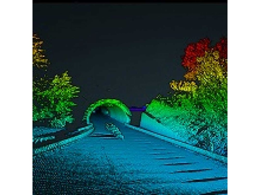 Rilievi tramite laser scanner da drone