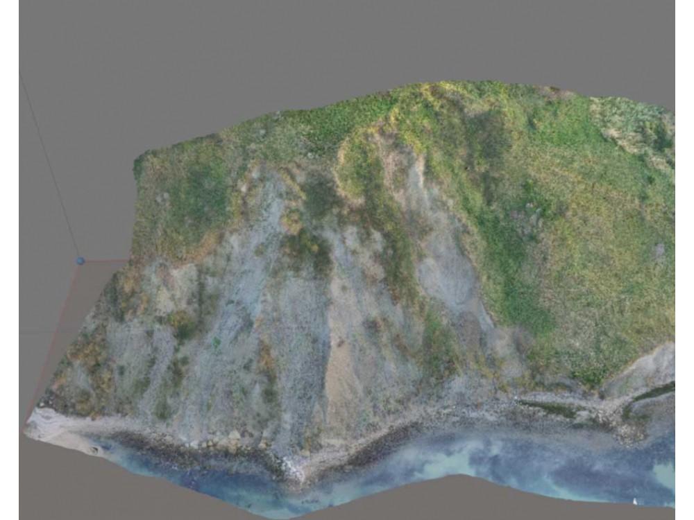 Rilievi topografici per monitoraggio aree a rischio