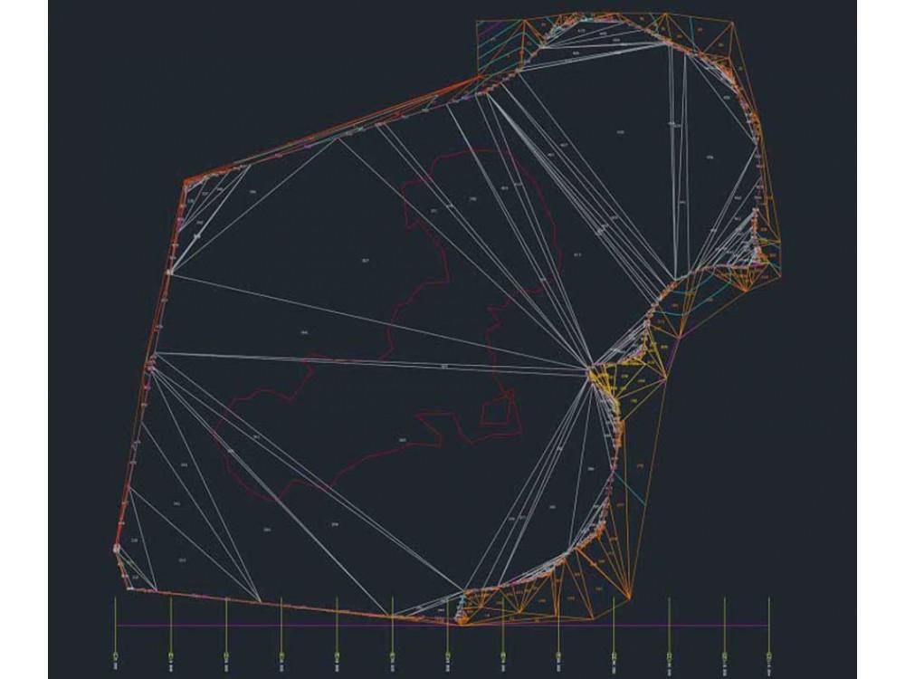 Rilievi topografici con restituzione di modelli a triangoli