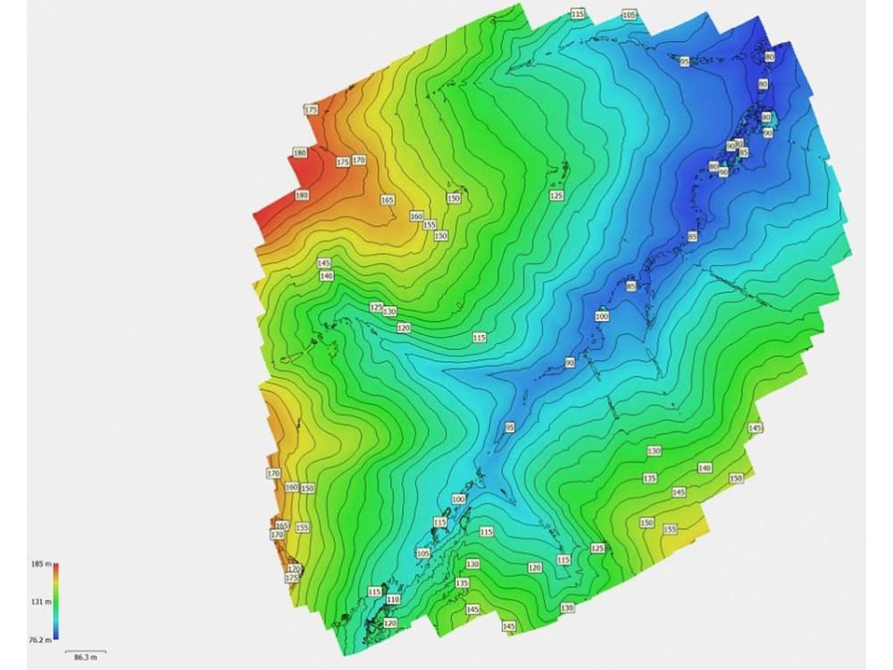 Rilievi topografici ad altissima risoluzione