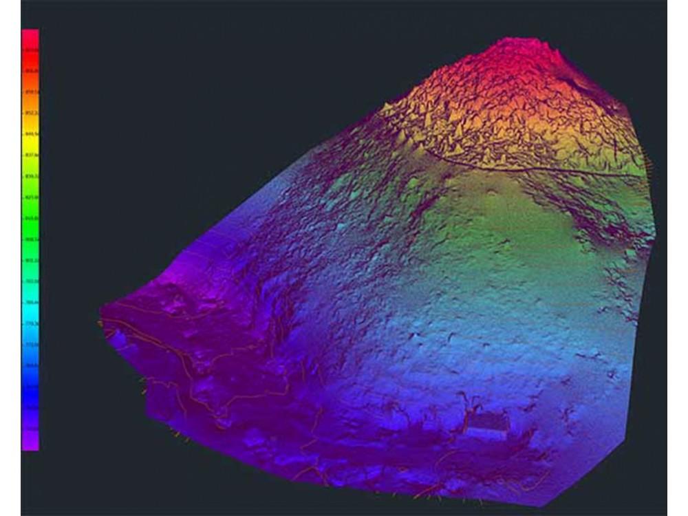 Rilevamenti geologici con monitoraggio di aree sensibili