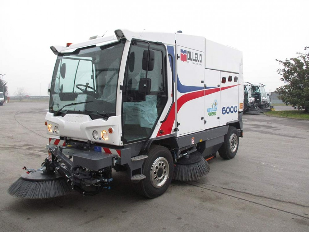 Spazzatrice meccanico-aspirante Dulevo 6000 Cng a gas metano