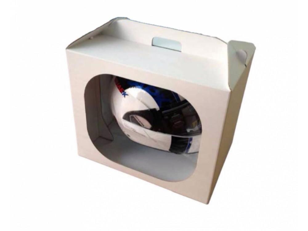 Imballo in cartone ripieghevole per casco