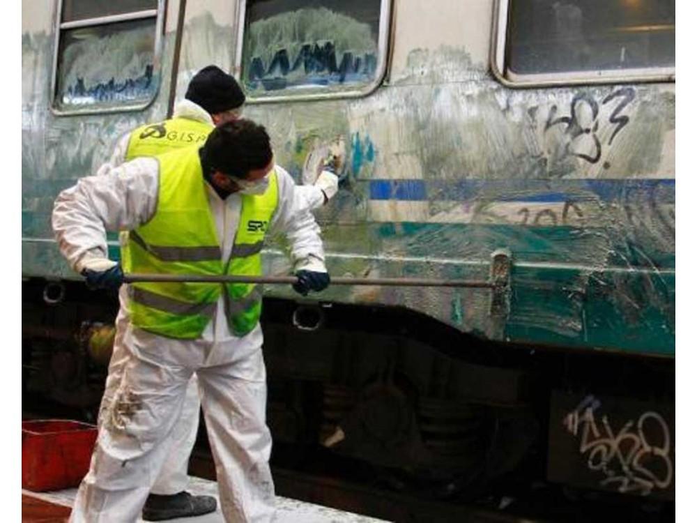Prodotti di lavaggio per il settore ferroviario