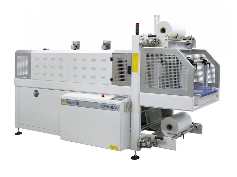 Fardellatrice automatica in linea a film termoretraibile BP800AS