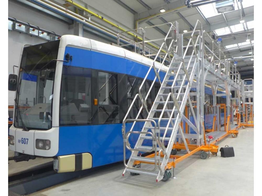 Scale speciali per le manutenzioni nel settore ferroviario