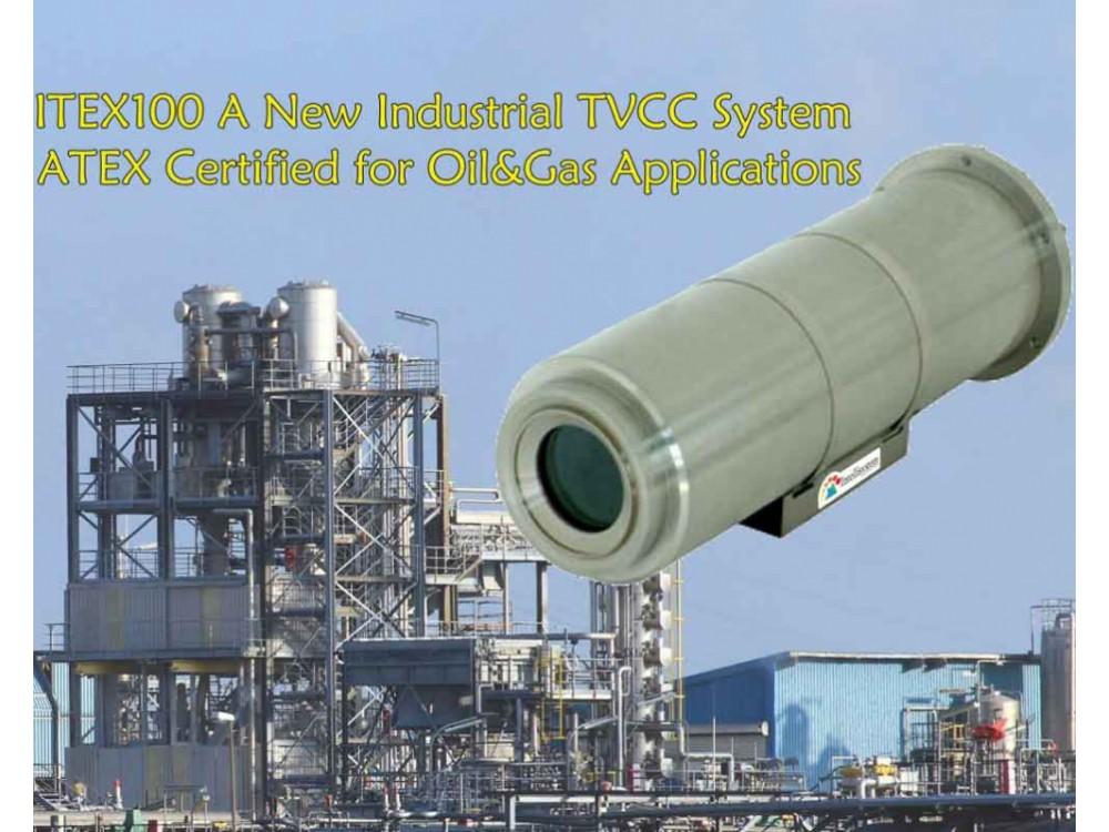 Telecamera Itex100 per aree industriali potenzialmente esplosive