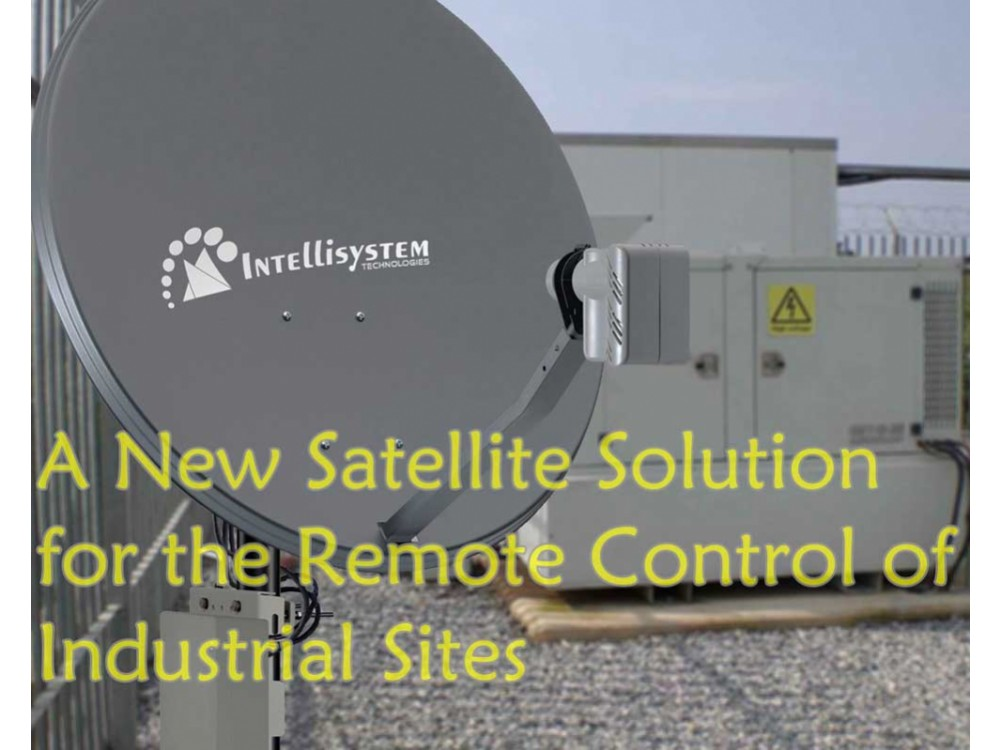Connettività satellitare per monitoraggio remoto