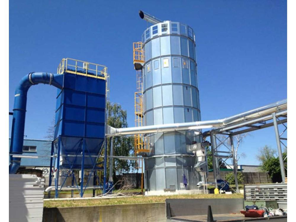 Filtrazione e stoccaggio materiale inerte