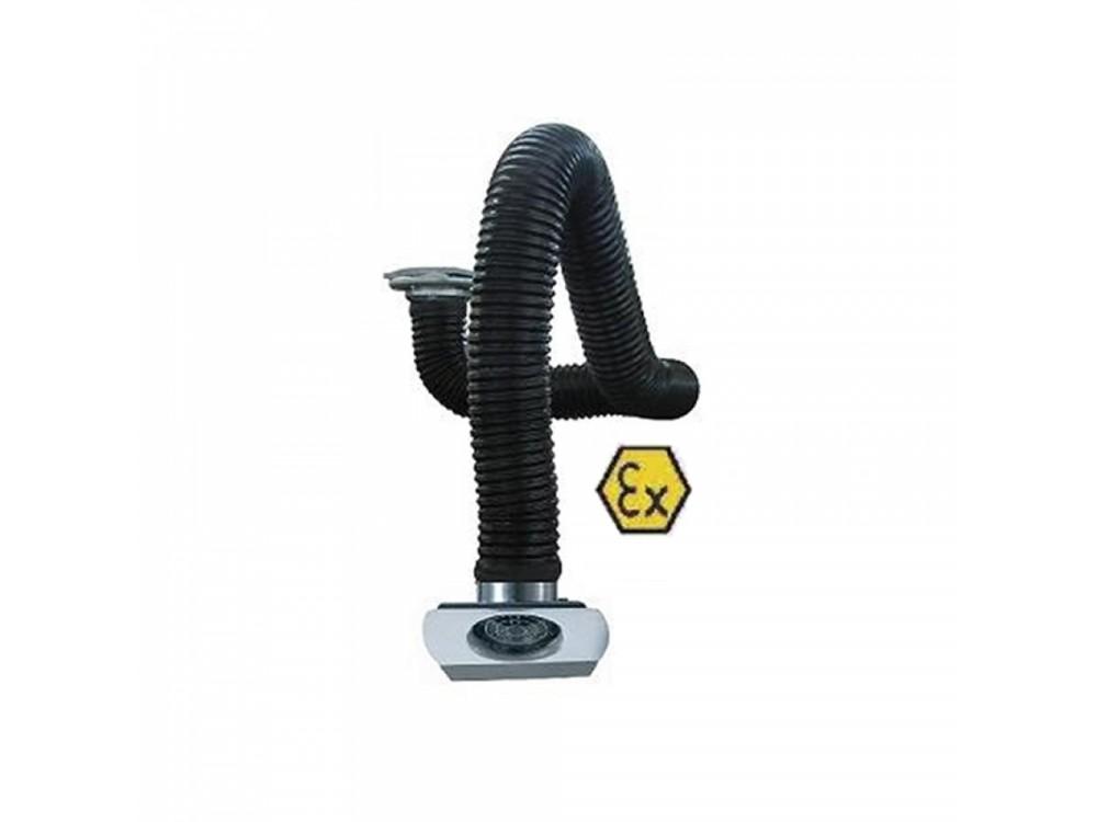 Braccio aspirante ATEX per ambienti a rischio esplosione