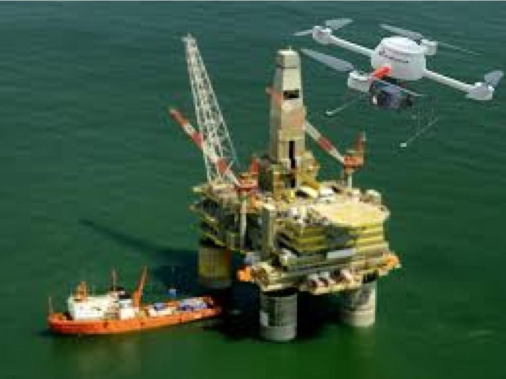 Sistemi di visione e controllo piattaforme oil e gas tramite droni