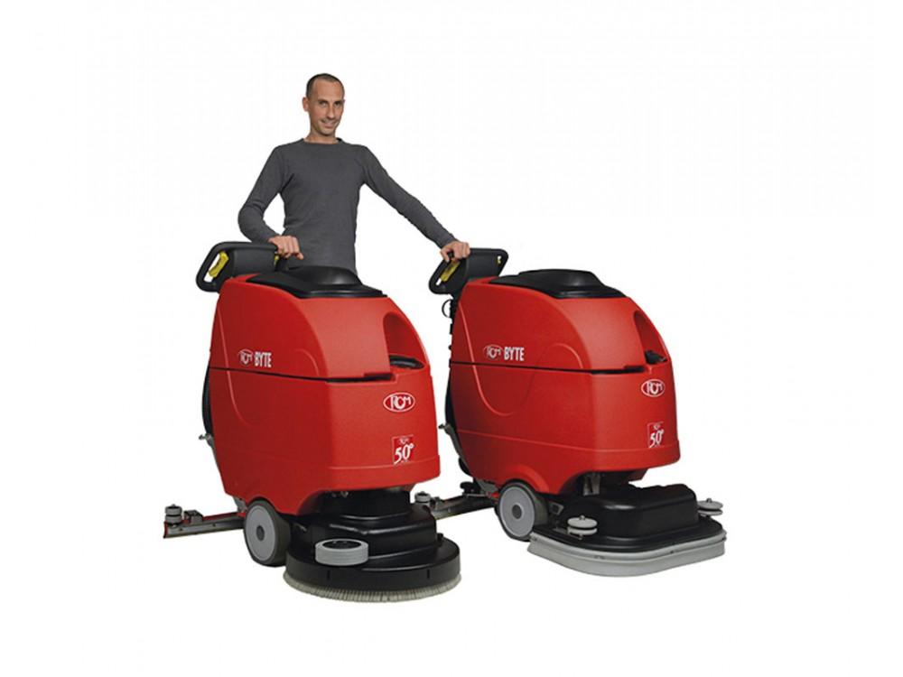 Lavasciuga pavimenti professionale Byte II per uso intensivo