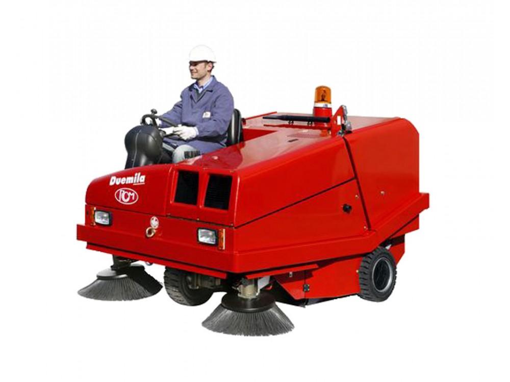 Motoscopa RCM Duemila con scarico idraulico per aree grandi