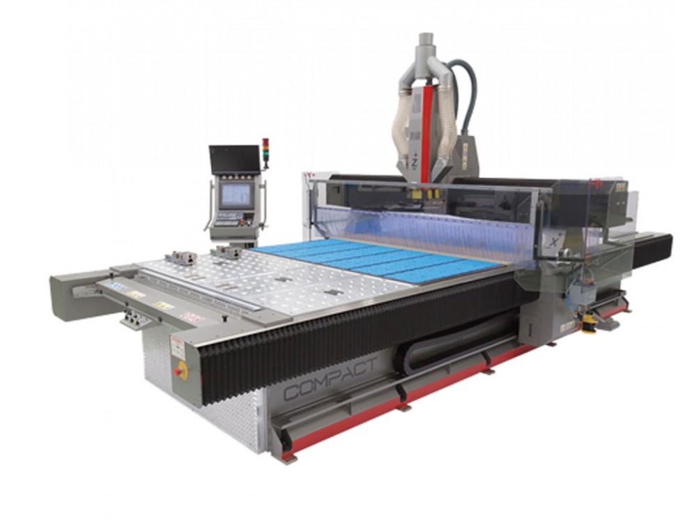 Macchina CNC Compact per lavorazioni leghe leggere e materiali plastici