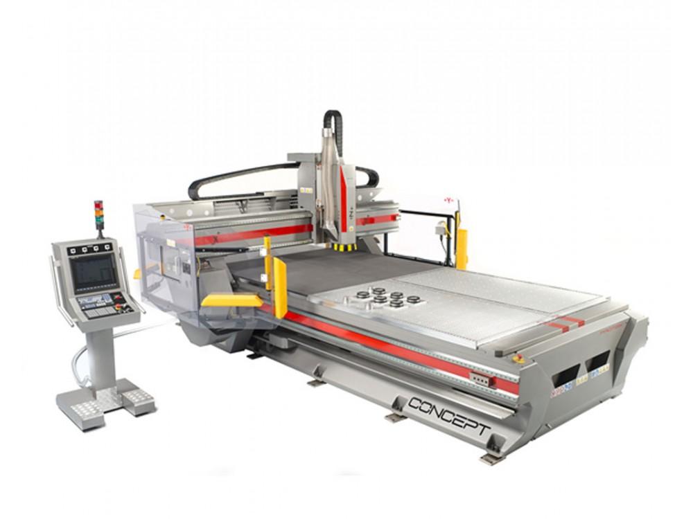 Macchina CNC Concept per grandi lavorazioni veloci precise potenti