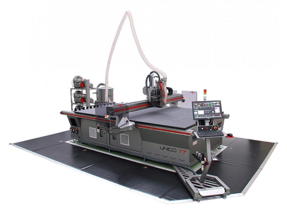 Fresatrice CNC Unico TT e plotter piano per produzioni uniche
