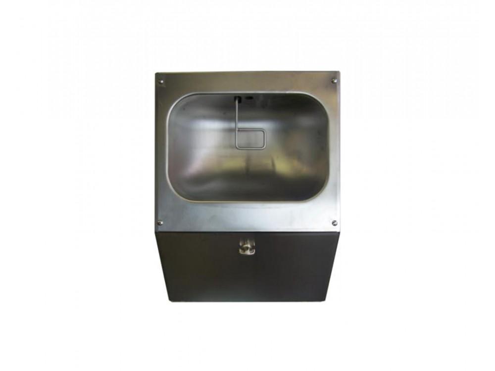 Nebulizzatore mani pneumatico disinfettante 837C in acciaio inox Aisi 304