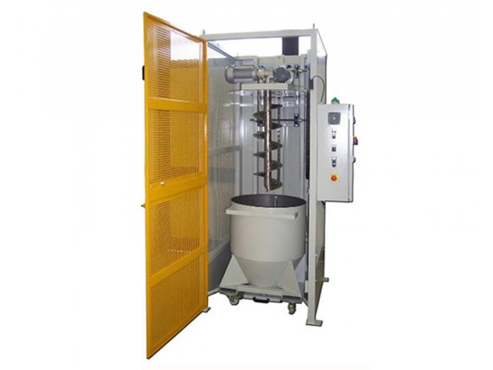 Miscelatore automatico per granuli