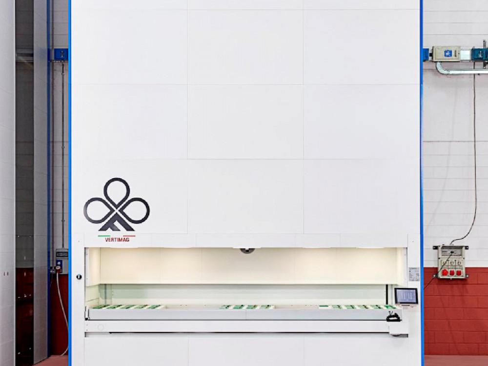 Magazzino verticale Vertimag per stoccare materiale di ogni formato peso e dimensione