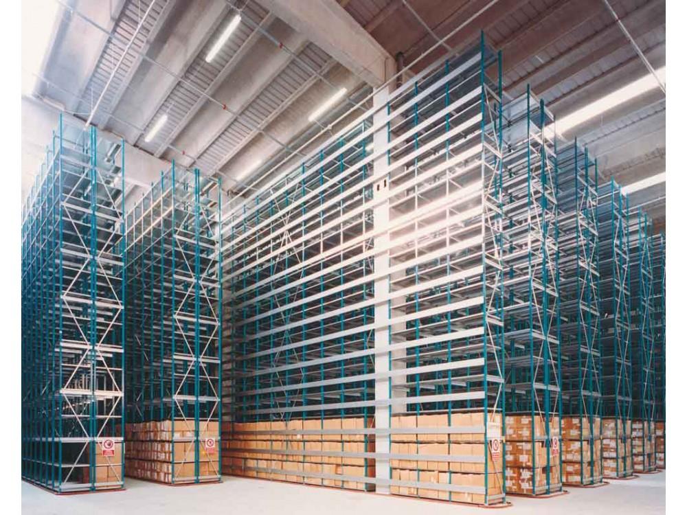 Scaffalatura modulare Dimax per carichi medi