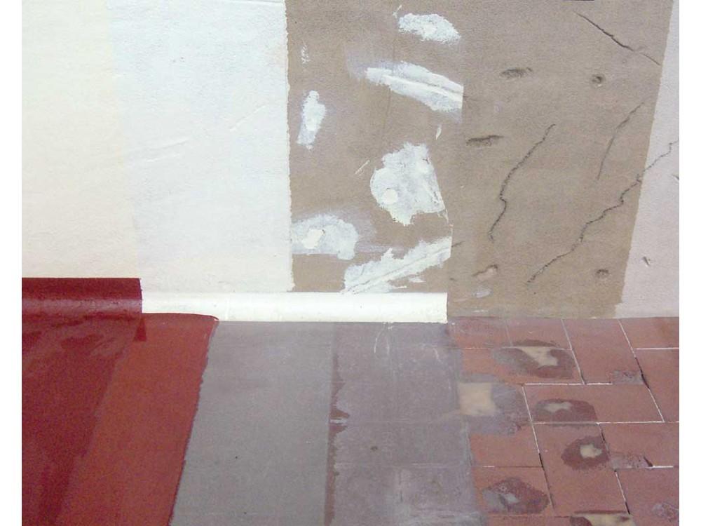 Ripristino di pavimento deteriorato Paex