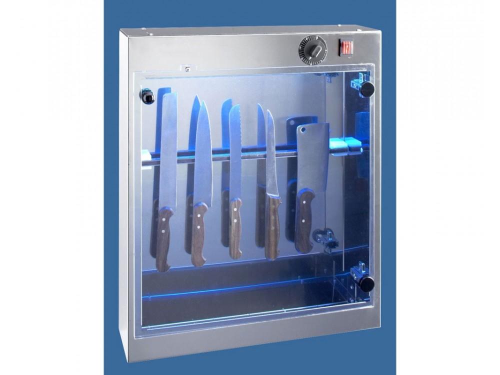 Sterilizzatore coltelli U.V. in acciaio inox AISI 304 Stericoltelli ARM 50