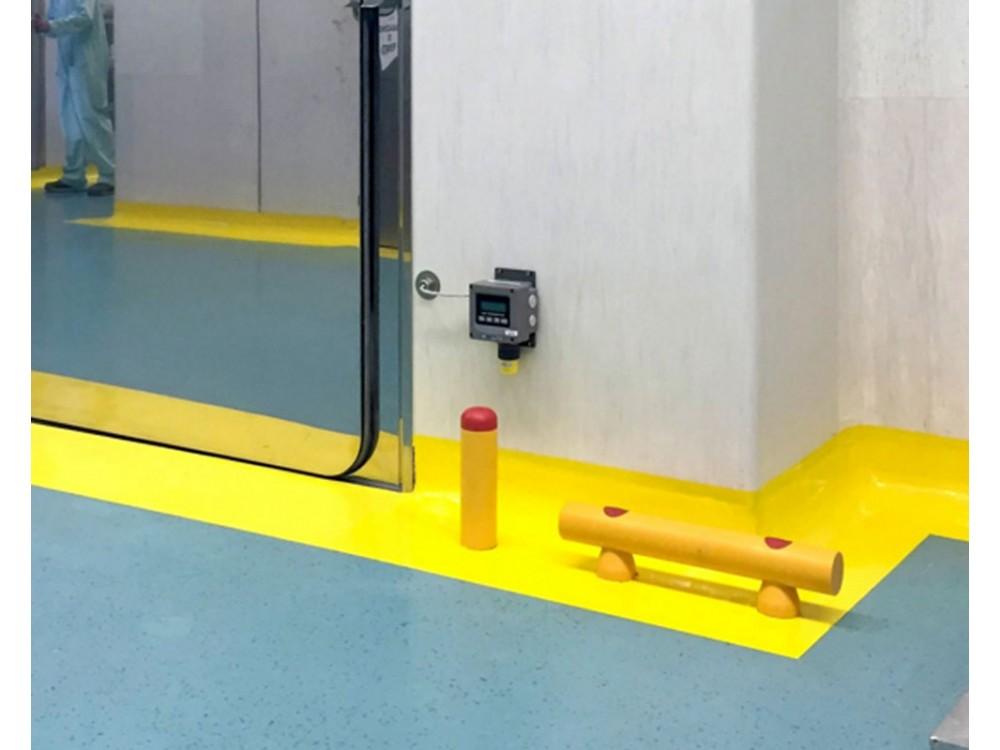Guardrail e pali antiurto da fissare a pavimento D70