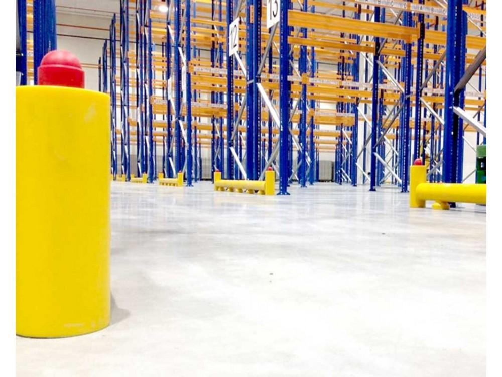 Palo antiurto per la sicurezza in magazzino