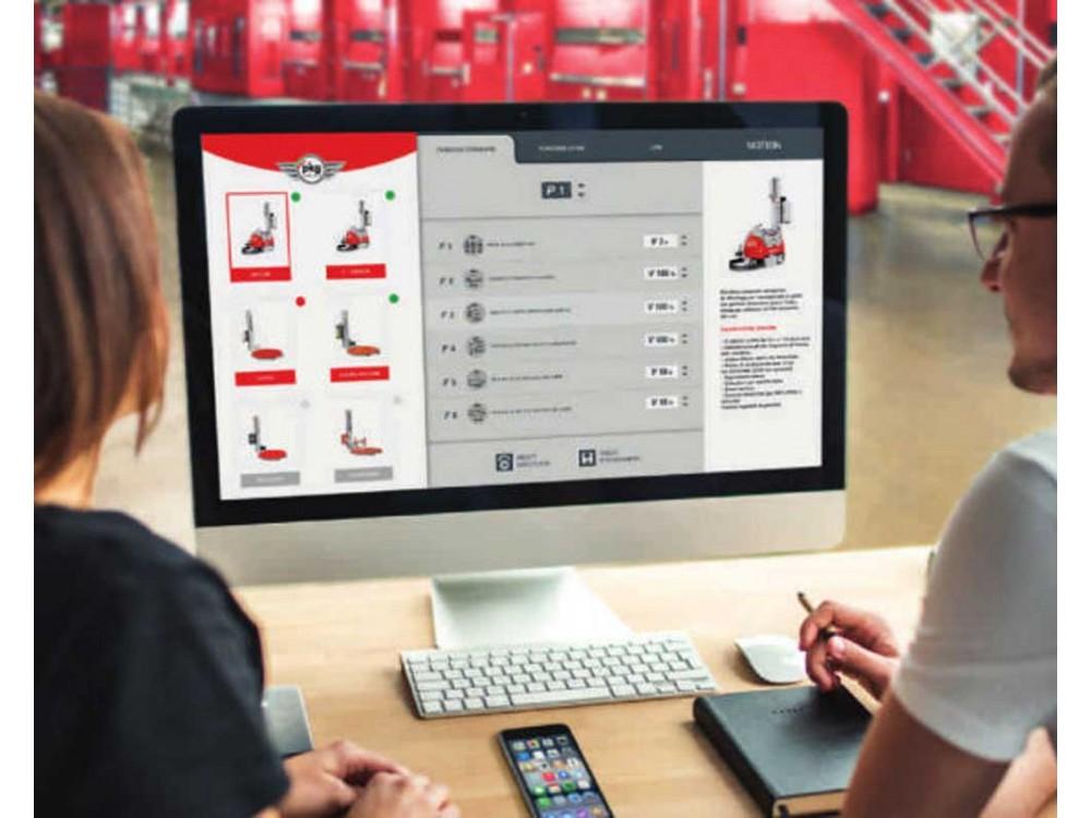 Applicazione software per il controllo delle macchine per imballaggio