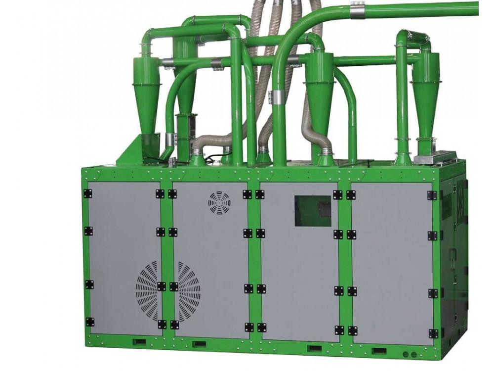 Sistema di riciclaggio multifunzione di scarti industriali Wire Pro