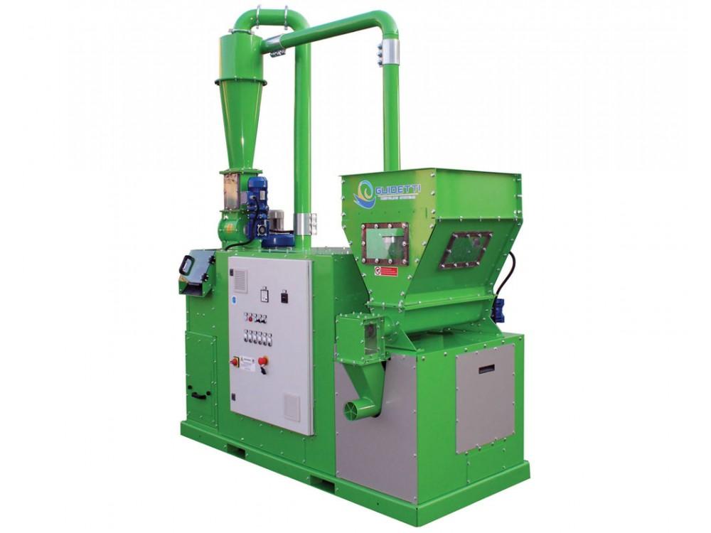 Sistema per il recupero del rame dalla plastica Reco Mill