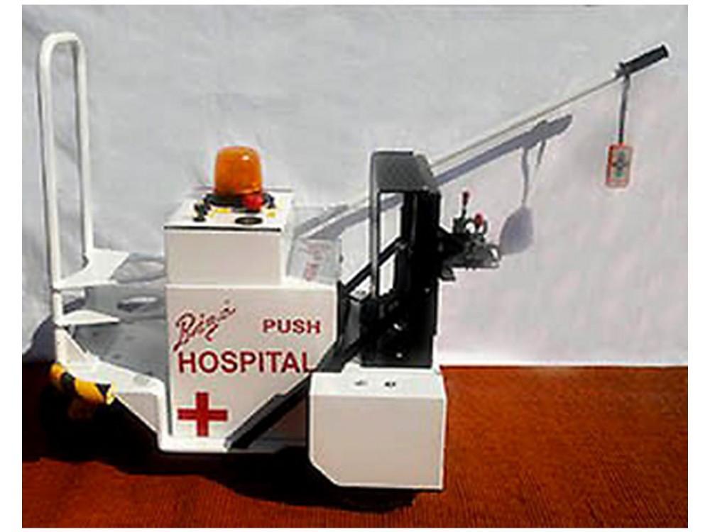 Spingi letto ospedaliero elettrico