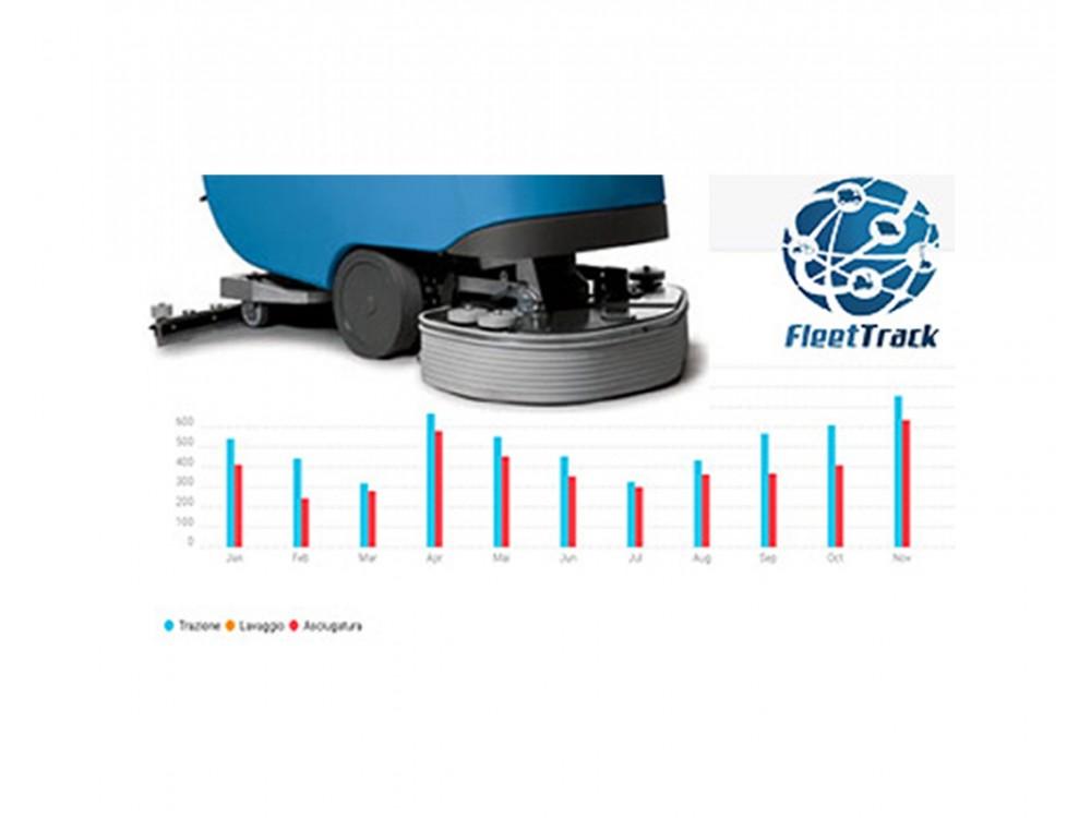 Software Fleet Track per le macchine di pulizia industriale