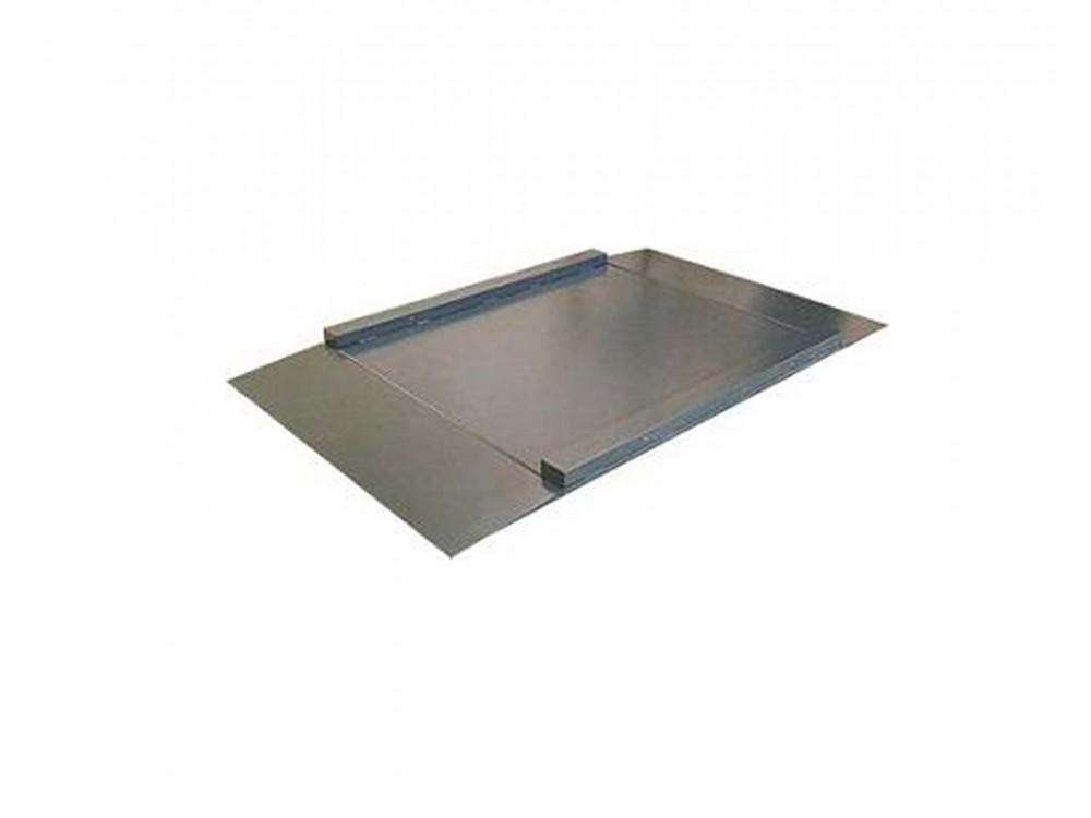 Piattaforma di pesatura a profilo ribassato con rampe