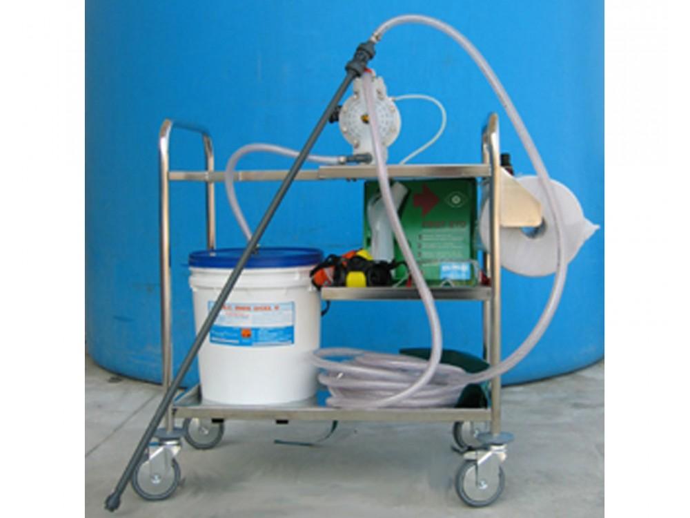 Pompa a spruzzo di prodotti chimici ad aria compressa