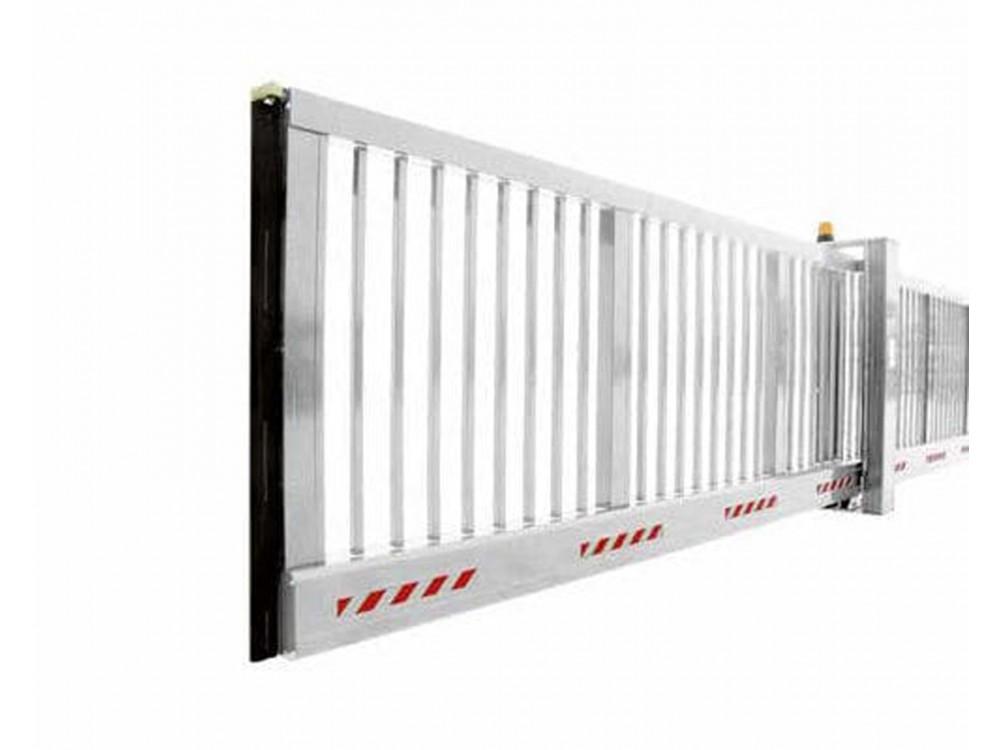 Cancello scorrevole in alluminio HS Alu