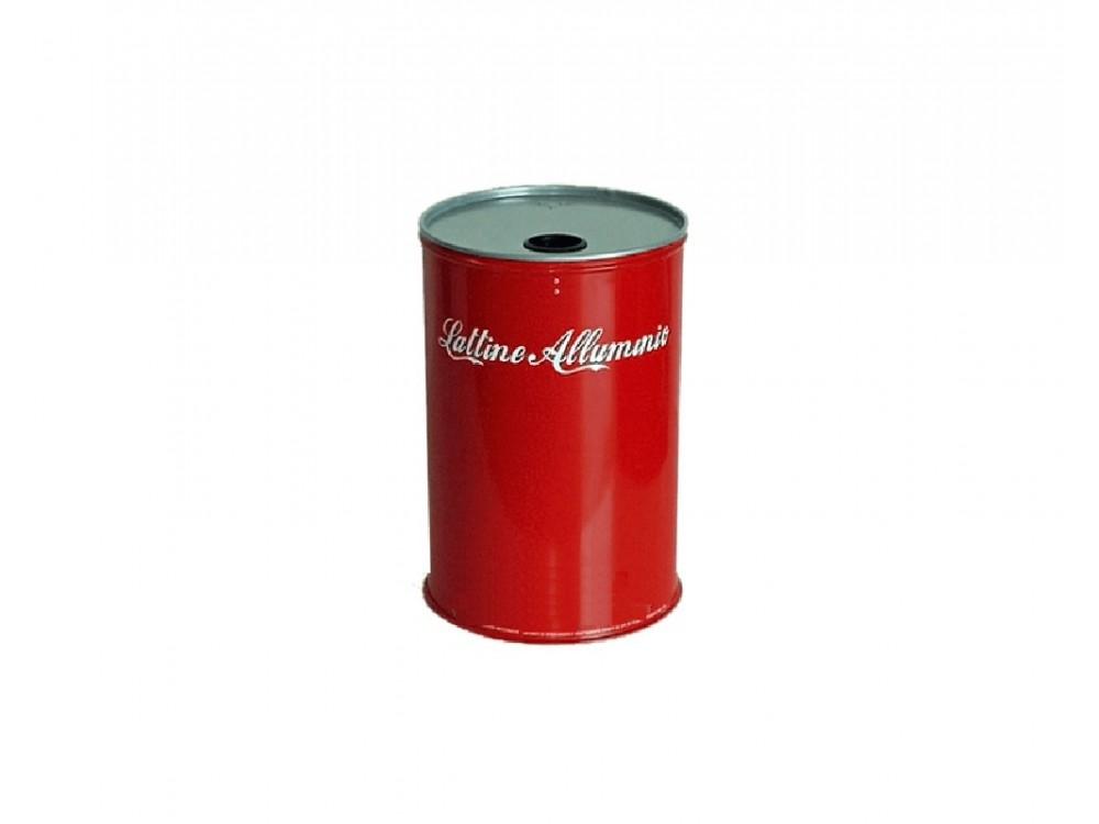 Contenitore per la raccolta rifiuti, lattine di alluminio
