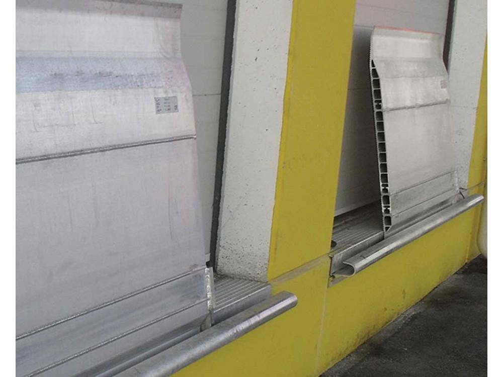Pedane in alluminio per carichi leggeri