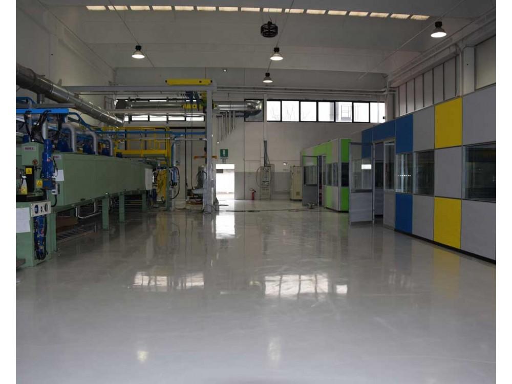 Pavimenti per l'industria chimico-farmaceutica
